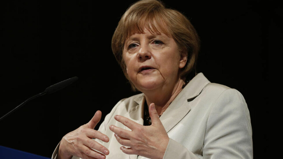 POPULÆR: Statsminister Angela Merkel står fram som tysklands redningskvinne. Foto: AP