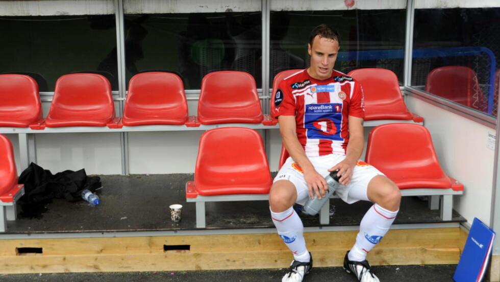 TIL TRONDHEIM: Alt tyder på at OBs Tore Reginiussen blir Rosenborg-spiller i løpet av helgen. Foto: Rune Stoltz Bertinussen / Scanpix
