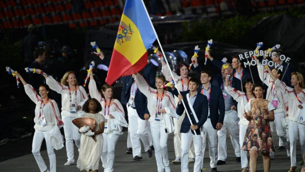 DOPINGTATT: Sleggekasteren Marina Margjeva fra Moldova får ikke delta i OL etter å ha avlevert en positiv dopingprøve. En annen moldovsk utøver er også dopingtatt. Foto: AFP PHOTO / CHRISTOPHE SIMON