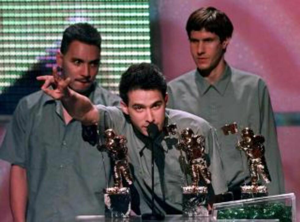 STARTEN: Rubin produserte og ga ut debutalbumet til rapgruppa Beastie Boys på det nystartede selskapet Def Jam. Foto: AP / NTB Scanpix