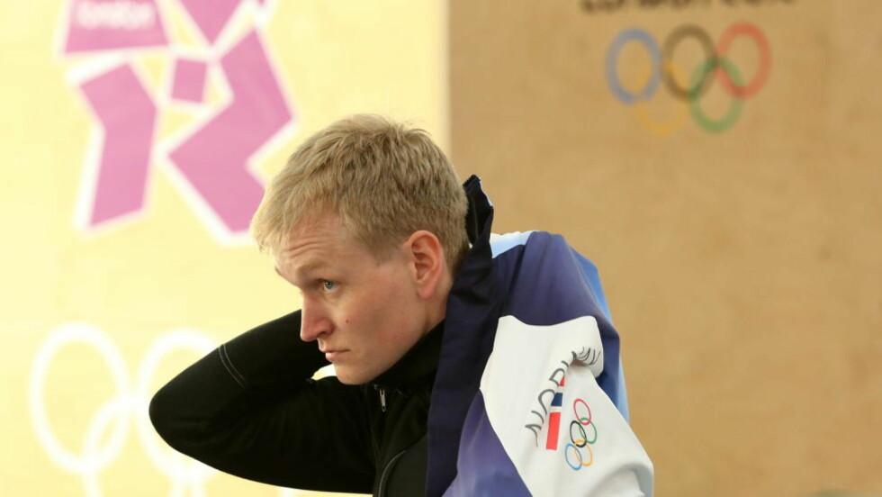 UTSLÅTT: Odd Arne Brekne kom ikke til finalen etter å ha misset med de to siste skuddene. Foto: Erik Johansen/NTB scanpix