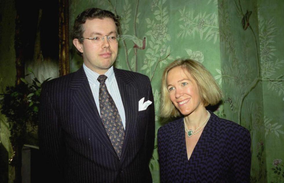 PALME-TEORIER:  Eva Rausing, her sammen med ektemannen Hans Kristian Rausing, mente hun visste hvem som drepte Palme. Det kom fram da politiet gjennomsøkte datamaskinen hennes.  Foto: AP Photo/Alan Davidson/Scanpix