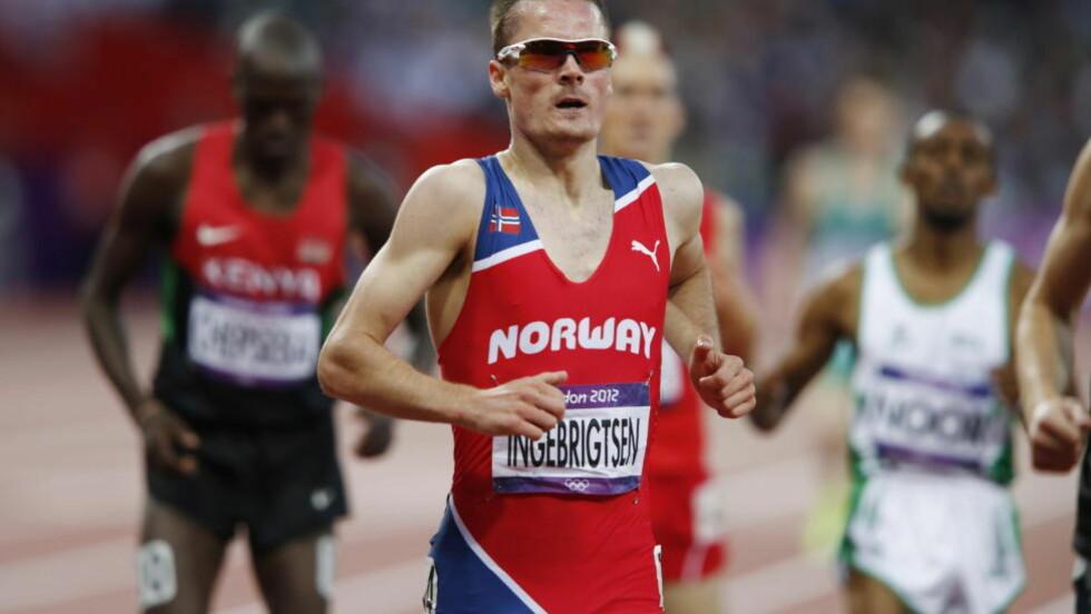 GOD DEBUT: Henrik Ingebrigtsen løp frekt og smart i sitt første OL-løp og gikk videre til semifinale på 1500-meteren. Foto: Heiko Junge / NTB scanpix