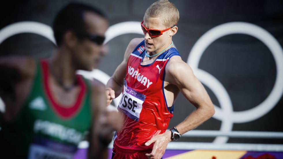 TILBAKE: Erik Tysse har sonet ferdig sin to år lange dopingutestengelse. I dag ble han nummer 14 i OL. Foto: Bjørn Langsem
