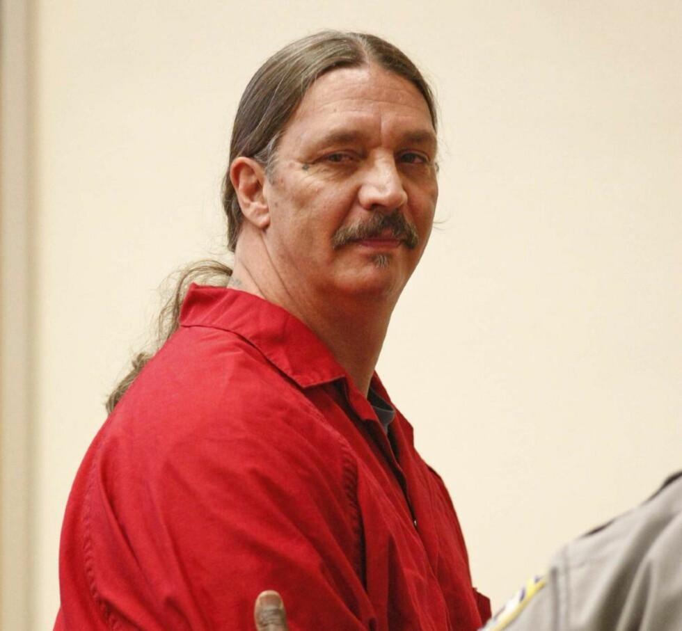 Benådet: Gary Haugen er blitt benådet, etter at han ble dømt til døden i 2007. Han har nå gått rettens vei for å få lov til å bli henrettet. Foto: AP Photo/Statesman-Journal, Timothy J. Gonzalez, File