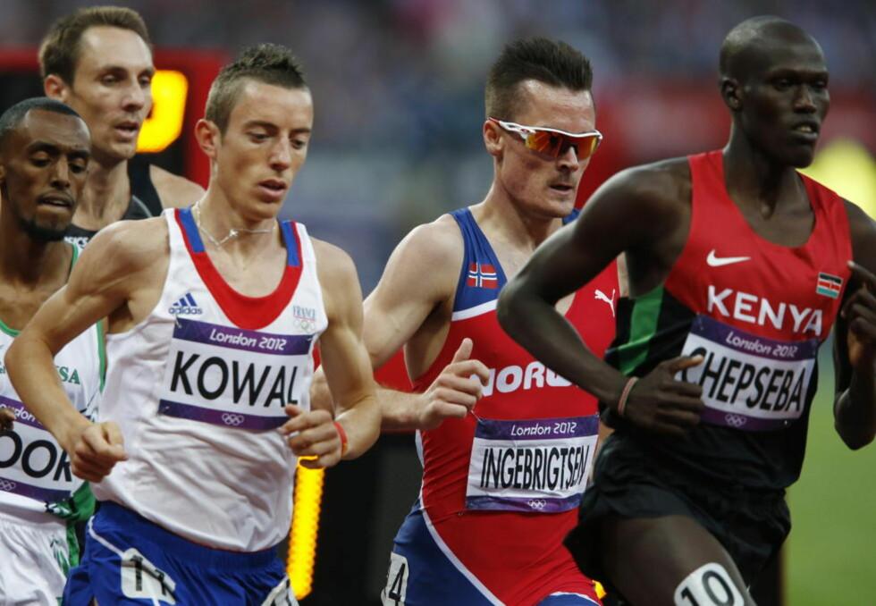 FORTSETTER Å IMPONERE: Europamester Henrik Ingebrigtsen tok seg til fOL-finale på 1500 meter.Foto: Heiko Junge / NTB Scanpix