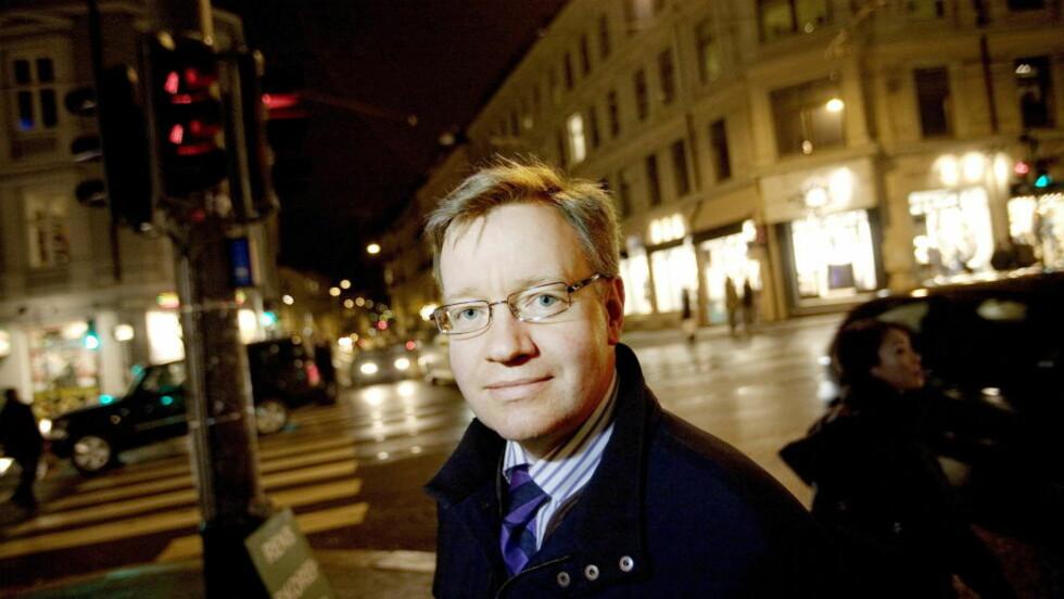 ENGASJERT: Skolebyråd i Oslo, Torger Ødegaard, mener det bør settes en grense. Foto: Torbjørn Grønning/Dagbladet