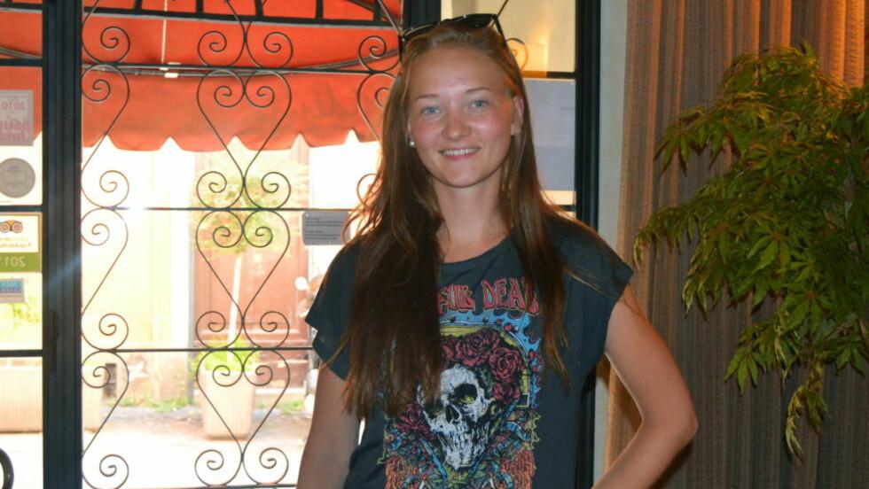SAVNET:  16 år gamle Sigrid Giskegjerde Schjetne har vært sporløst forsvunnet siden natt til søndag. Foto: Privat / NTB scanpix