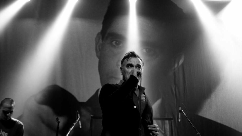 Sint: Tidligere The Smiths-vokalist Morrissey har ikke mye til overs for London-OL. Foto: Henning Lillegård / Dagbladet.  Behandlet eller vurdert som ferdig av bildedesk