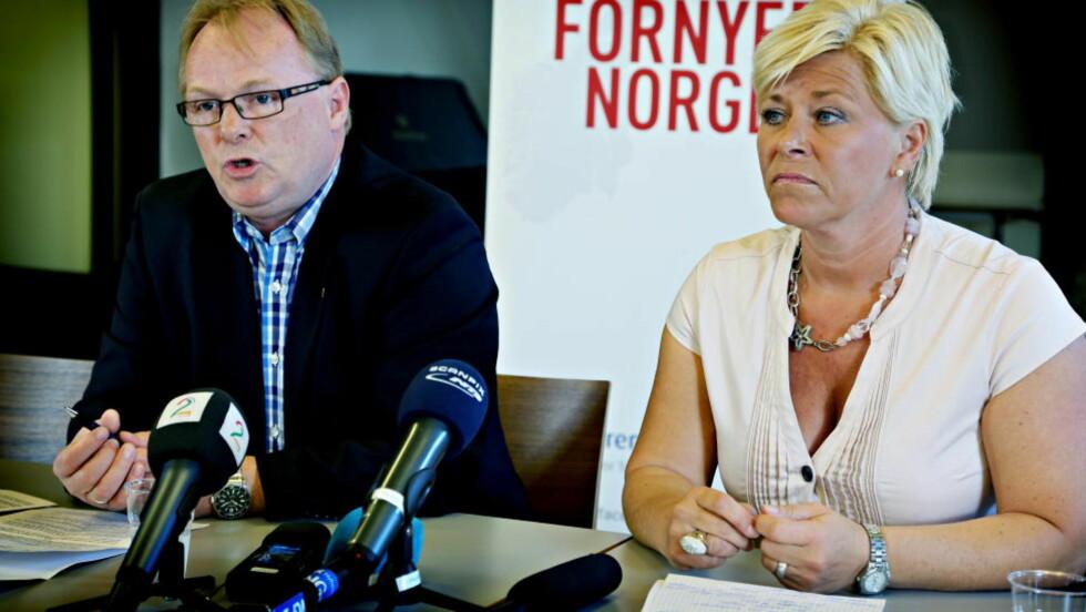INTERN DISKUSJON: Det er fortsatt uklart hvem som vil bli ny nestleder i Frp. Foto: Jacques Hvistendahl