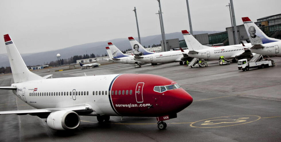 NORWEGIAN: 1,8 millioner passasjerer fløy med Norwegian i juli. Det er 14 prosent flere enn i samme måned i fjor, men selskapet hadde også flere tomme seter enn for ett år siden. Foto: ANETTE KARLSEN / NTB SCANPIX