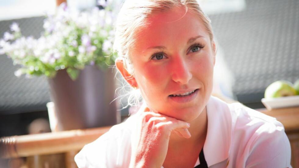 SJANSELØS: Karoline Bjerkeli Grøvdal har aldri løpet fortere på 1500 meter, men i et OL var det ikke godt nok. Foto: Audun Braastad / NTB scanpix