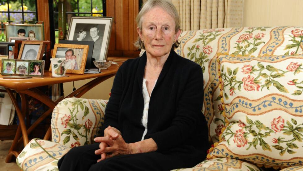 UTSATT FOR BRUTALT RAN:  Francoise Jansen (73). Foto: Kerry Davies / INS News
