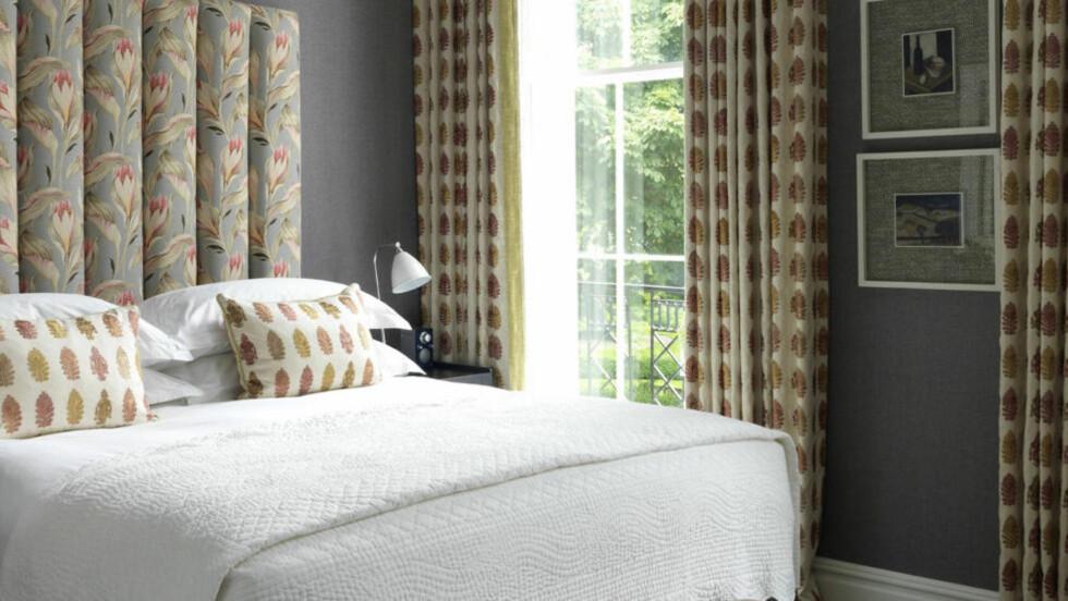 FLOTTE ROM: Rommene på hotellet har forskjellig fargeskala, men alle er inredet i den karakteristiske Kemp-stilen.