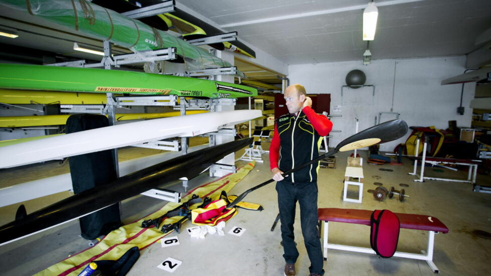 TYPISK HVERDAG FOR DE BESTE:  Eirik Verås Larsen har i årevis jobbet med detaljene rundt utstyr og trening. Til slutt ga det to OL-gull til en guttunge som ikke akkurat oste av idrettstalent. FOTO: Bjørn Langsm. / Dagbladet.