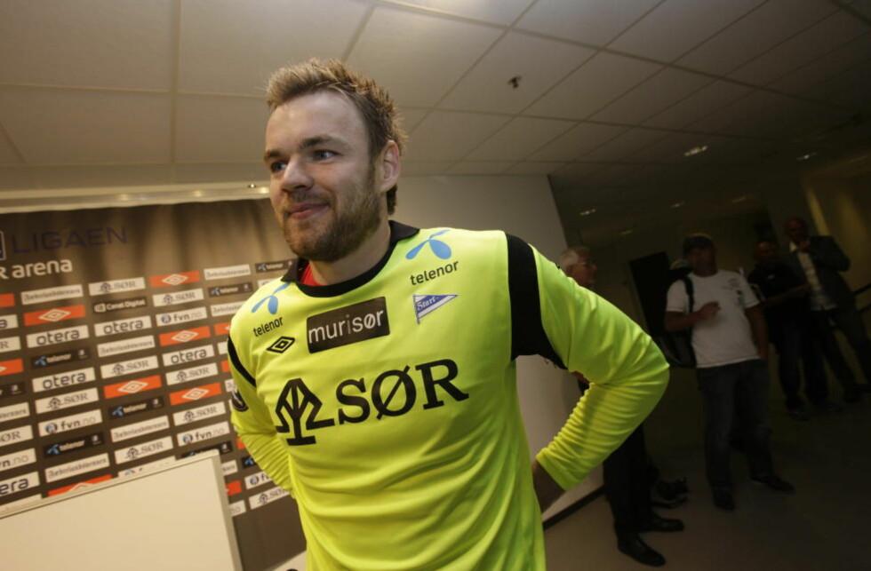 RETURNERER TIL TRONDHEIM: Alexander Lund Hansen er tilbake i Rosenborg, tre år etter at han forlot klubben.Foto: Tor Erik Schrøder / NTB Scanpix