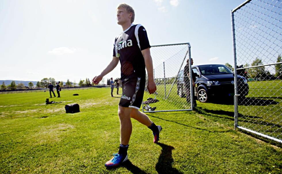 STÅR OVER: Jonathan Parr har meldt forfall til treningskampen mot Hellas i neste uke. Foto: Stian Lysberg Solum / NTB Scanpix