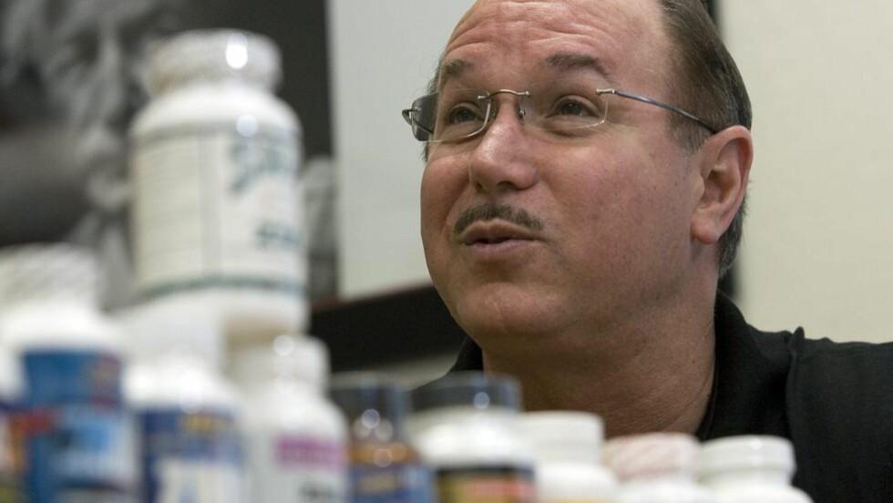 LABORATORIESJEF: Victor Conte sto bak den omstridte Balco-laben, som forsynte en rekke utøvere med dopingcocktailer. Foto: Scanpix / REUTERS/Kimberly White