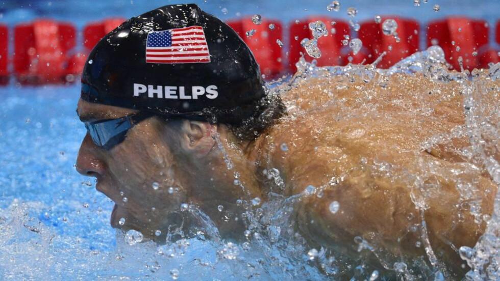 OL-KONGE: Michael Phelps fikk ADHD-diagnosen som niåring. Hans suksess viser at ADHD kan være en ressurs, skrev Dag Coucheron i Dagbladet tirsdag. Foto: Jae C. Hong / AP Photo / NTB Scanpix