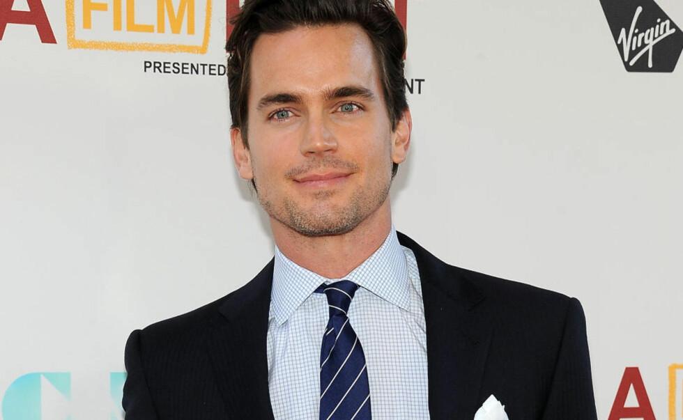 FAVORITT: Mange fans av boka har ønsket seg Matt Bomer (34) i rollen som Christian Grey i «Fifty Shades of Grey». Men ikke alle synes det er uproblematisk at Bomer er homofil. FOTO: AFP PHOTO/SCANPIX