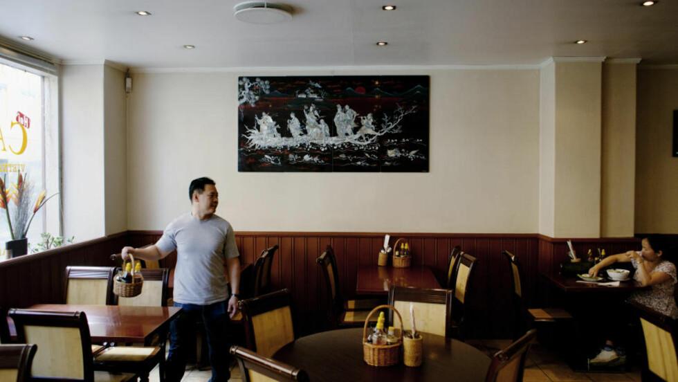 Ujevnt: Både maten og servicen er et stykke unna toppklasse på Hai Café ved Sentrum Scene i Oslo. Men de beste rettene holder høy kvalitet, og prisene er lave.  FOTO: ADRIAN ØHRN JOHANSEN/ DAGBLADET