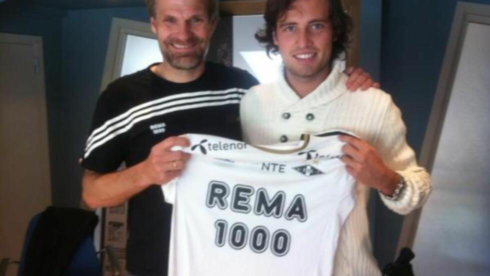 RBK-KLAR: Mikkel Diskerud skal spille for Rosenborg ut sesongen. Foto: @MixDiskerud / Twitter