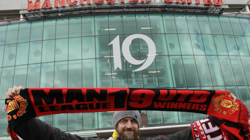 FLEST LIGATITLER: Ingen har vunnet flere enn Manchester Uniteds 19 ligatitler i engelsk toppfotball. Nå vurderes klubben også som verdens mest verdifulle. Foto: AP / Jon Super