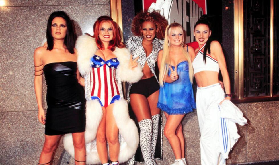 COMEBACK?: 90-tallets kanskje største popband, Spice Girls, er ventet å opptre under avslutningsseremonien i kveld. Foto: Stella Pictures