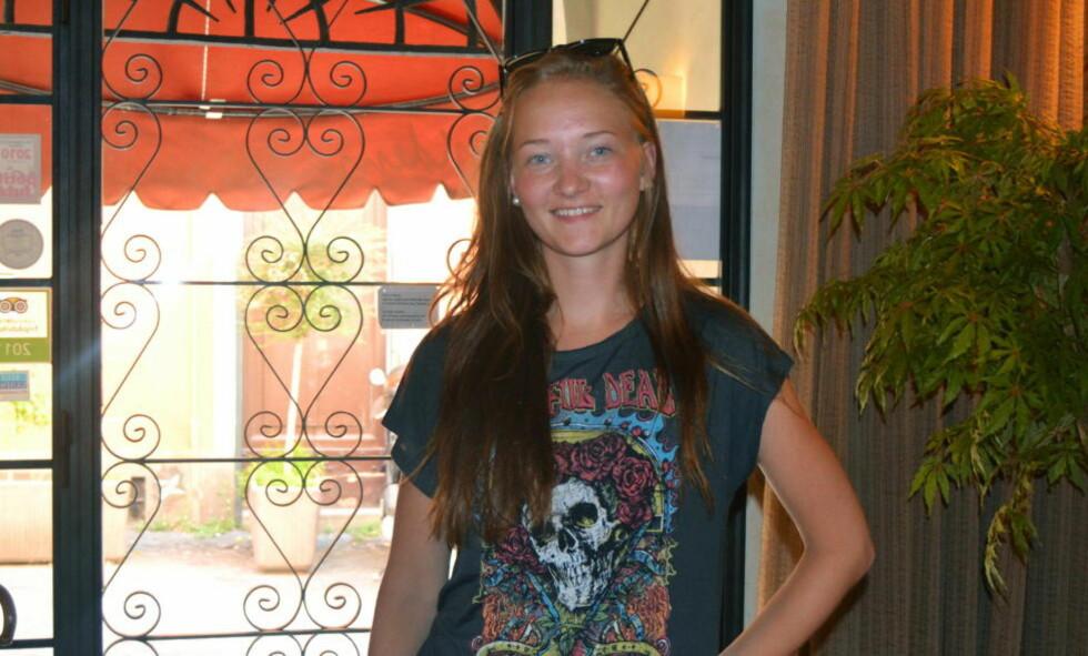FACEBOOK: Politiet tror nå de får tilgang til det ønsker på 16 år gamle Sigrid Giskegjerde Schjetnes Facebook-konto. Foto: Privat / NTB scanpix
