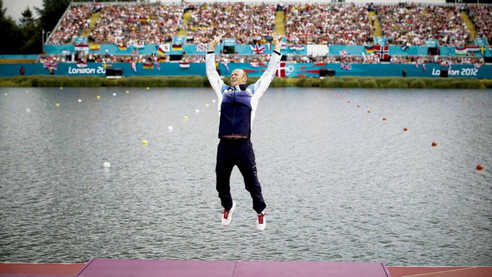 NÅDDE IKKE OPP: Eirik Verås Larsen var blant de nominerte til å havne i utøverkomiteen til IOK, men den ferske gullvinneren nådde ikke opp. Foto: Bjørn Langsem / Dagbladet.