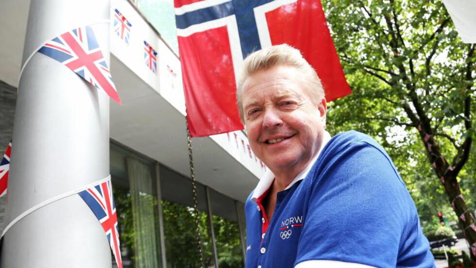 FORVENTER BEDRING: Idrettspresident Børre Rognlien kaller OL-innsatsen blandet etter to gull i London.  Foto: Erik Johansen / NTB scanpix