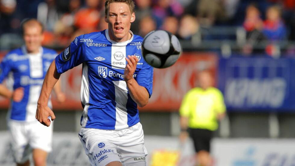 TIL MOLDE: Sarpsborgs Magnar Ødegaard bytter klubb og er klar for Ole Gunnar Solskjærs Molde.  Foto: Svein Ove Ekornesvåg / Scanpix