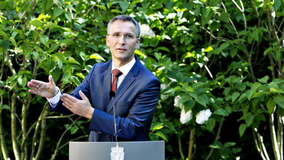 MER ÅPENHET? Statsminister Jens Stoltenberg og hans rødgrønne kollegaer holder mange notater skjult. Foto: HANSEN NINA / Dagbladet