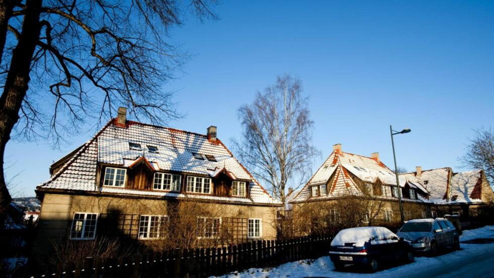 VENSTREORIENTERT BYPLANLEGGER: Harald Hals tegnet et av de mest ekslusive boligområde i Oslo i dag. Men opprinnelig ble boligene bygd med en intensjon om å lage langt flottere, rimelige hus enn det som hadde vært mulig til da. Foto: Thomas Rasmus Skaug / Dagbladet