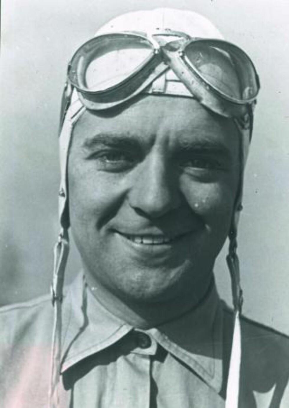 MODIG MANN: I 1937 kjørte Bernd Rosemeyer en Auto Union Type C i 380 kilometer i timen på Avus-banen i Berlin.