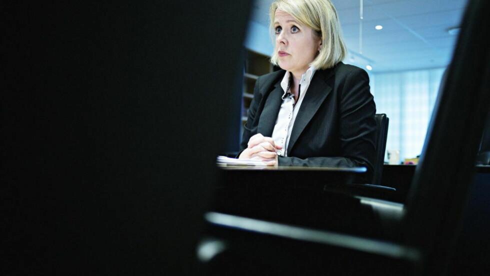 LOVER BOT OG BEDRING:  PST-sjef Benedicte Bjørnland vil forandre PST fra en nølende og forsiktig organisasjon, til en driftig og nytenkende hemmelig tjeneste. Foto: Jo Straube / Dagbladet