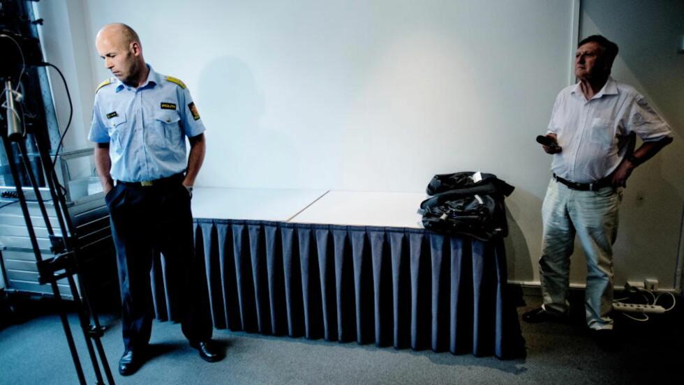 Ansvarlig: Politidirektør Øystein Mæland måtte forsvare politietaten i alle kanaler etter den knusende dommen over politiets beredskap og evne til å takle en stor terroraksjon. Foto: Thomas Rasmus Skaug / Dagbladet