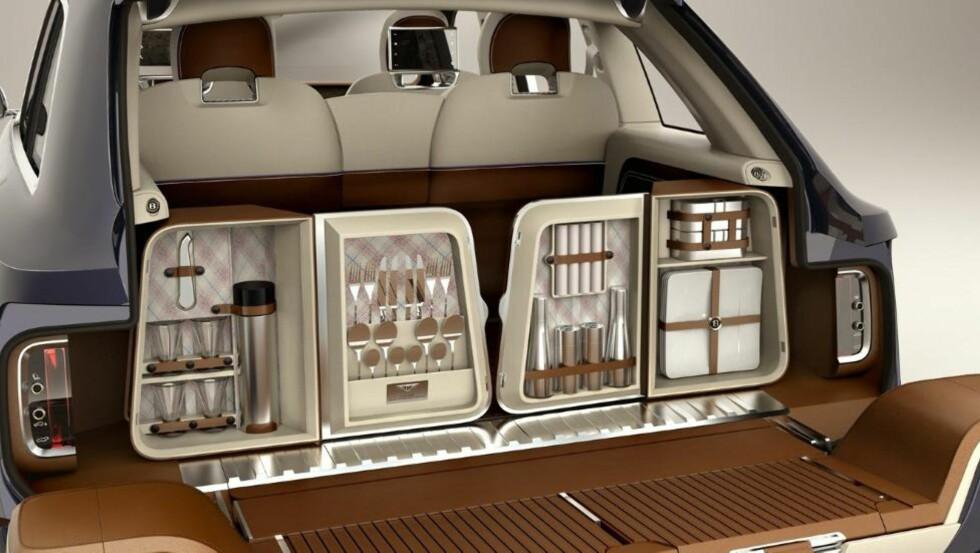 IKKE OVERDRIVE: Noe ekstrautstyr er smart med tanke på bilens salgsverdi, men ikke alt. Foto: Bentley