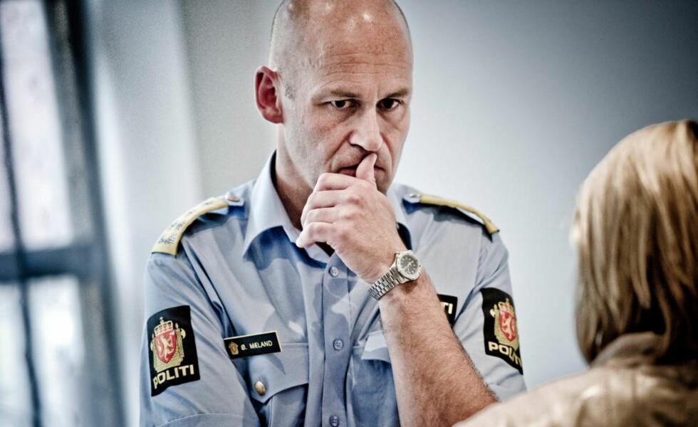 PRESSET: Politidirektør Øystein Mæland har fått hard kritikk etter terroren 22. juli. Foto: THOMAS RASMUS SKAUG / DAGBLADET
