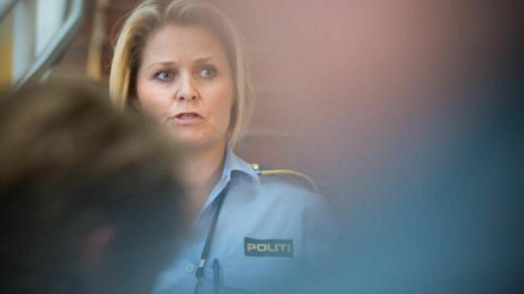 1700 TIPS: Leder for voldsseksjonen i Oslo politidistrikt Grete Lien Metlid holdt i går pressebrief om siste nytt i Sigrid Giskegjerde Schjetne- saken. Hittil har politiet fått inn 1700 tips i saken, uten at det har ført til gjennombrudd. Foto: Jo Straube / Dagbladet
