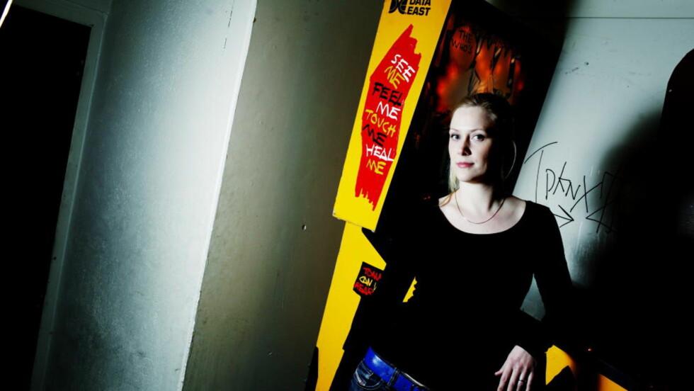 VIL TILFØRE NOE NYTT: Når Poesifest nå arrangeres for første gang, er poesi i nettets tidsalder en del av programmet. Forfatter Rannveig Revhaug er blant festivalens «web-poeter». Foto: Siv Johanne Seglem / Dagbladet