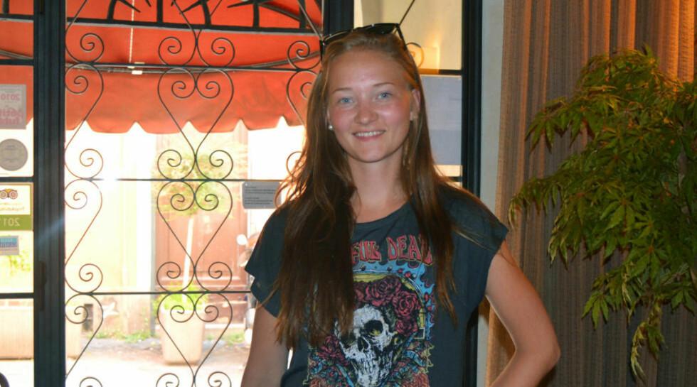 FORSVUNNET: Arkivbilde av den 16 år gamle Sigrid Giskegjerde Schjetne som har vært savnet siden natt til søndag i forrige uke.  Foto: Privat / NTB scanpix