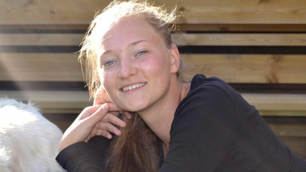 BORTE: 16 år gamle Sigrid Giskegjerde Schjetne er sporløst forsvunnet.  Foto: Privat / NTB scanpix