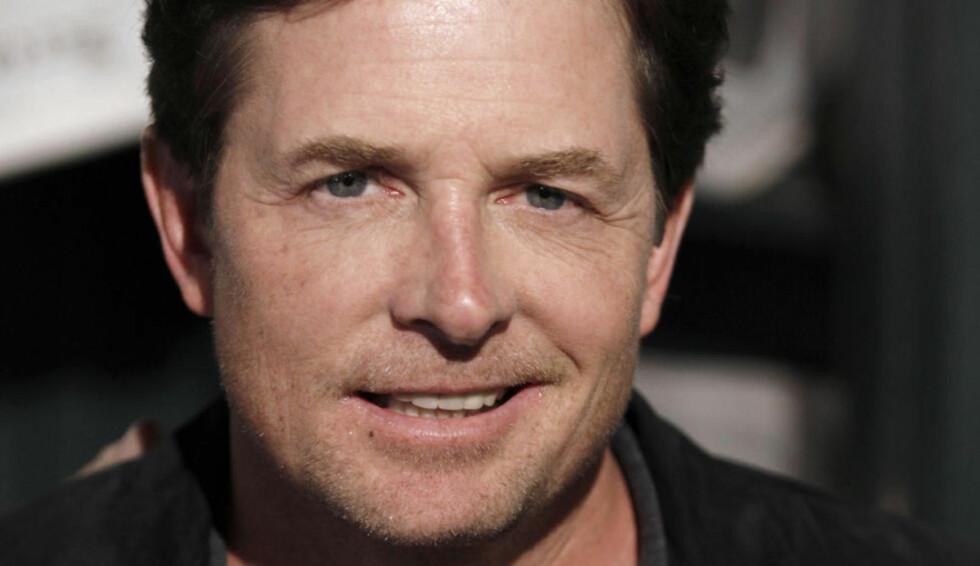 TILBAKE: Skuespiller Michael J. Fox har hatt en tolv år lang pause fra de store tv- og filmrollene. Nå skal han imidlertid være klar for en ny hovedrolle, i en humorserie inspirert av hans eget liv. Foto: AP Photo / Matt Sayles / NTB scanpix