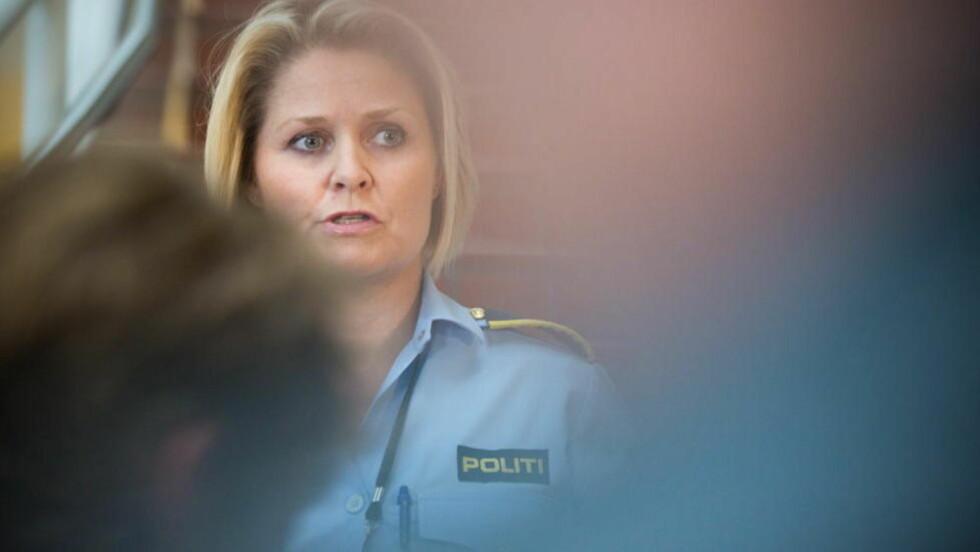 SKAL FÅ INFORMASJON: Grete Lien Metlid forteller at politiet nå skal få det siste de har bedt om av Facebook.  Foto: Jo Straube / Dagbladet