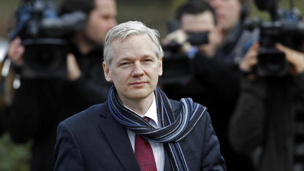 TIL ECUADOR: Julian Assange. Foto: Stefan Wermuth / REUTERS / NTB scanpix