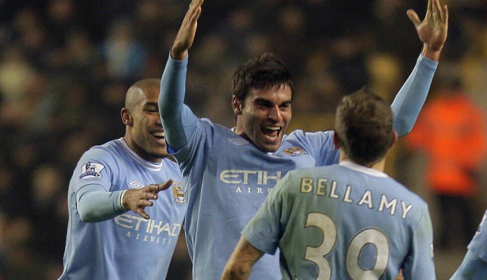 TIL NORWICH: Javier Garrido er tidligere Manchester City-spiller. Nå er han klar for Norwich. Foto: AP Photo/Simon Dawson)*