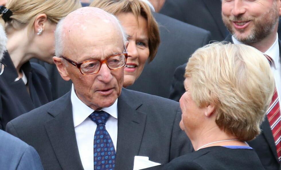 KRITISK: Eksstatsminister Kåre Willoch. Foto: LISE ÅSERUD / NTB SCANPIX