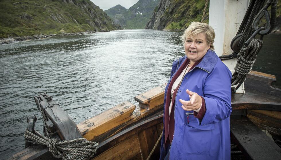 EROTIKK: Thomas Drageset er ikke fornøyd med regjeringens oljeleting. Foto: Øistein Norum Monsen / Dagbladet