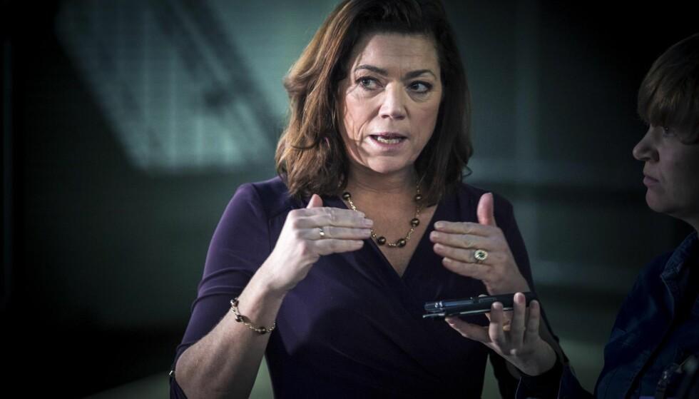 UIMOTSAGT: Kristin Skogen Lund, direktør i NHO, fikk stå uimotsagt i  Dagsrevyen. Foto: Øistein Norum Monsen / Dagbladet.